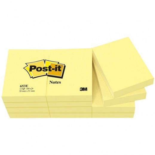 023514-PAQUET DE 12 POST-IT...