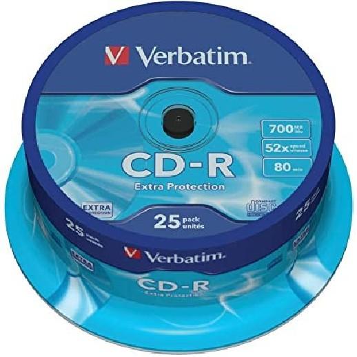 CD-R - VERBATIM 52X700 MB -...