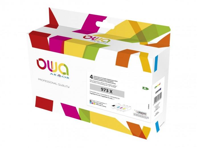 OWA HP 973X - PACK 4...