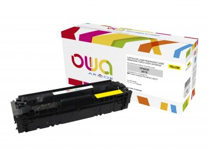 OWA HP CF403X/201X TONER JAUNE